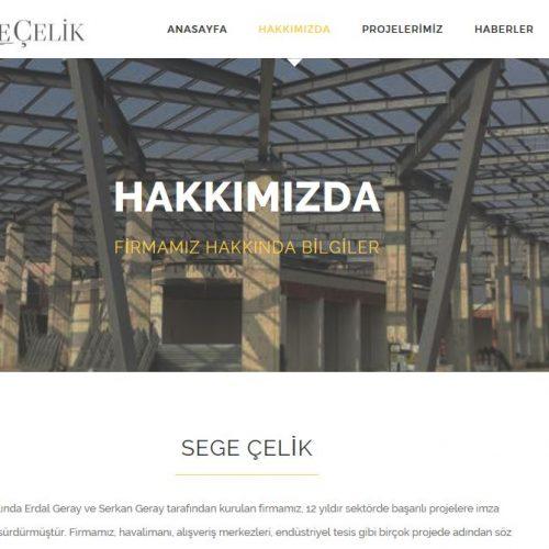 Segecelik.com.tr websitesi yayına girdi